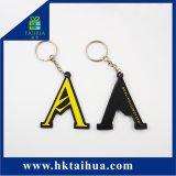 Anello chiave del regalo di Custom PVC Key Chain, Company