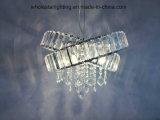 Lámpara colgante de metal con cristales (WHG-340)