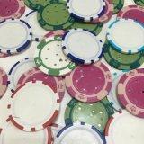 Kundenspezifisches Plastikschürhaken-Chipsjettons-/zeichen 11g