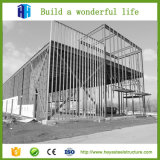 El bastidor de acero prefabricados de estructura de la cúpula de la construcción de Galpón Design
