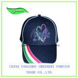 慣習的で簡単な昇進の青い刺繍のスポーツの帽子