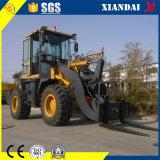 중국 Top Quality Competitive Price 1.5t Wheel Loader Xd920g