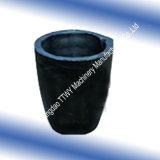 Creuset de carbure de silicium de Ssic avec le couvercle