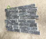 مصنع بالجملة سوداء لون أردواز طبيعيّ حجارة قشرة