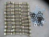 3T et 5t chargeuse à roues pièces de rechange Sdlg écrou de roue Boulon de roue et la rondelle de roue pour la vente