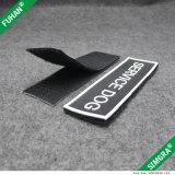 Zona di gomma di marchio di marca con nastro adesivo magico