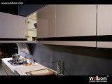 Armadi da cucina popolari della vernice di spruzzo della lacca di Welbom nuovi