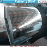 Q235Bの屋根ふきシートは規則的なスパンコールが付いている鋼鉄コイルに電流を通した
