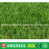 Erba artificiale d'abbellimento stabilizzata UV di prezzi bassi per i banchi dei pati dei giardini ed i campi giochi