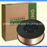 銅合金Er50-6の二酸化炭素のガスの盾の固体ミグ溶接ワイヤー
