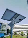 Lampada di via solare esterna di illuminazione LED con il sensore di movimento