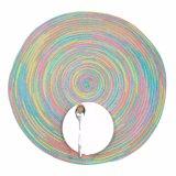 Buntes Polyester 100% gesponnenes Placemat für Tischplatte
