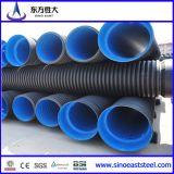 HDPE Doppio-Wall Corrugated Pipe per Drainage