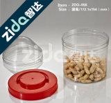Alimentos transparentes Frascos selados Garrafas plásticas, Frascos de alimentos plásticos Atacado Embalagem Garrafa Chá Cookies