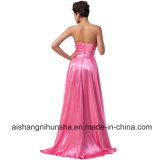 Платья вечера коротких передних длинних задних Sequins сатинировки простирания сексуальные