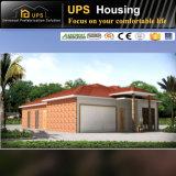 Casas ligeras de tres habitaciones de la casa prefabricada de la playa del calibrador de Samoa Marshall