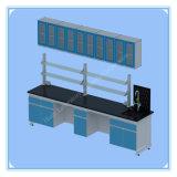 鋼鉄木製の家具の実験室の壁のベンチ