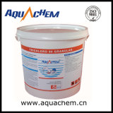 Trichloroisocyanuric酸のプールの塩素のタブレット