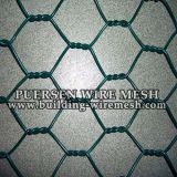 Galvanized/PVCの上塗を施してある六角形ワイヤーNeeting