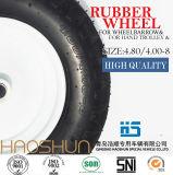 Gomma di gomma 4.80/4.00-8 della rotella della riga della barra pneumatica della carriola