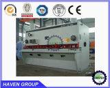 Máquina de corte da guilhotina QC11Y-6X2000 hidráulica, máquina de estaca da placa de aço