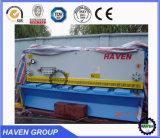 Cnc-hydraulische Schwingen-Träger-Scher-und Ausschnitt-Maschine QC12k 10X4000