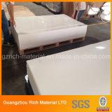 Undurchlässiger weißer Plastikacrylblatt-/des Plexiglas-PMMA Plastikvorstand