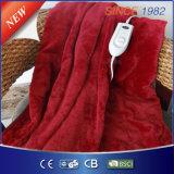 180*130cm con la coperta eccessiva elettrica della Borgogna del temporizzatore automatico