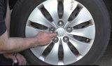 Redondo de acero inoxidable de alta Lug Cubierta Tuerca para camiones y remolques Lugs