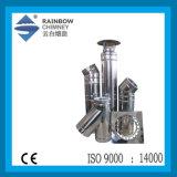 난로 또는 벽난로 굴뚝을%s 세륨 스테인리스 관 & 탄소 강관