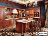 Modernes amerikanisches Europa-Haupthotel-Möbel-Melamin-hölzerner Küche-Schrank