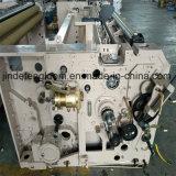 単一のノズルの単一ポンプを搭載するWaterjet編む織機の織物機械