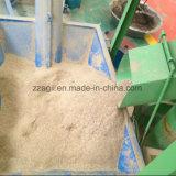 Il pollame alimenta il miscelatore della smerigliatrice del selettore rotante per l'alimentazione del bestiame