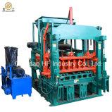 Halbautomatischer hydraulischer Straßenbetoniermaschine-Lehm-konkrete Sand-Kleber-Flugasche-Höhlung-Block-Maschine für Verkauf in Philippinen Qt4-20c