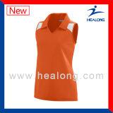 Healongの専門のスポーツ・ウェアのシルクスクリーンの印刷のバレーボールジャージー