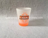 Neon Color Decal Printing Shot Glass