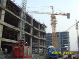 Selbst-Aufrichtender toplesser Gebäude-Turmkran des Aufbau-Qtz5013