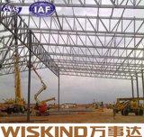 Estructura de acero del edificio prefabricado fácil de la asamblea del palmo grande para el almacenaje