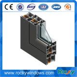 Perfil de aluminio modificado para requisitos particulares de la protuberancia, varia protuberancia de aluminio del perfil, protuberancia de la ventana de aluminio