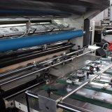 Machine feuilletante de courant ascendant de Msfy-1050m de film semi automatique de PVC OPP BOPP pour le papier d'imprimerie