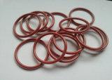 Teflon Encap силиконового уплотнительного кольца, тефлона Encap силиконового уплотнительного кольца, прозрачных Teflon и темно-красного силиконового каучука