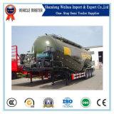 반 55cbm 두 배 격실 부피 시멘트 탱크 트레일러
