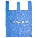 印刷されたTシャツ袋は、与えるショッピング(FLT-9612)のためのポリ袋を