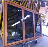 Faltendes Aluminiumfenster mit Flyscreen (CL-W1019)