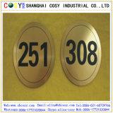 ABS couleur double coupe et le Conseil de gravure avec adhésif