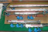 연료량 측정하 자석 부유물 수준은 유리를 측정하 본다