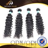 Het Weven Afro van de Stijl van de leverancier de Krullende Maagdelijke Uitbreidingen van het Haar