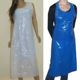 Apron Disposable Poly Apron Blue 또는 White 플라스틱 PE Apron