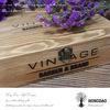 Hongdao hölzerner Kasten mit kundenspezifischem Firmenzeichen für Wein Gift_D