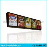 Menu de Fast Food Display LED caixa de luz